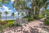 The famous Pink Promenade in front of the home - Single Family Home for sale at 124 Useppa Is, Captiva, FL 33924 - MLS Number is C7419408