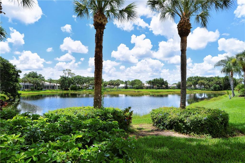 This is a the view from just outside the lanai. - Single Family Home for sale at 8753 Merion Ave, Sarasota, FL 34238 - MLS Number is A4165409