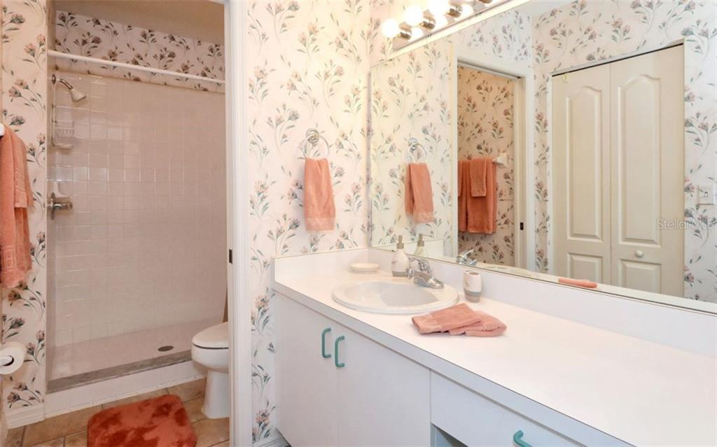 Master bath with oversized shower. - Condo for sale at 9630 Club South Cir #6103, Sarasota, FL 34238 - MLS Number is A4166105