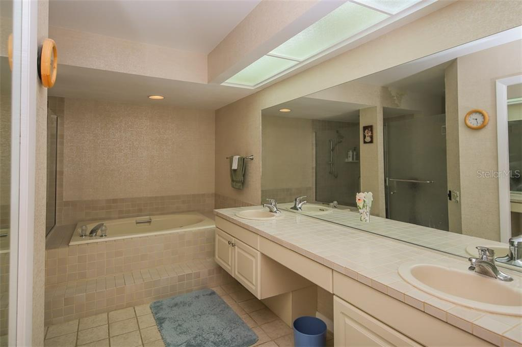 Master bathroom - Condo for sale at 7631 Fairway Woods Dr #601, Sarasota, FL 34238 - MLS Number is A4168292