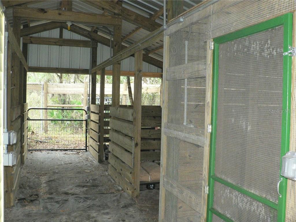 Barn Interior - Single Family Home for sale at 16314 Golf Course Rd, Parrish, FL 34219 - MLS Number is A4171555