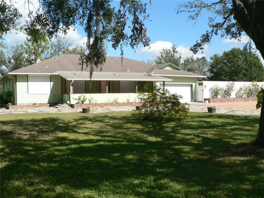 Entrance to Property - Single Family Home for sale at 16314 Golf Course Rd, Parrish, FL 34219 - MLS Number is A4171555