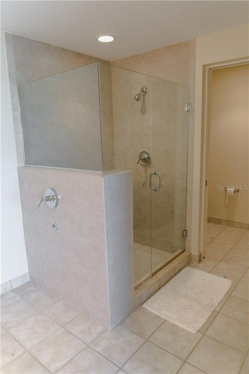 Master Bath Shower - Condo for sale at 6512 Midnight Pass Rd #406, Sarasota, FL 34242 - MLS Number is A4171720
