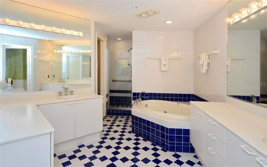 Master Bathroom - Condo for sale at 535 Sanctuary Dr #c108, Longboat Key, FL 34228 - MLS Number is A4172623
