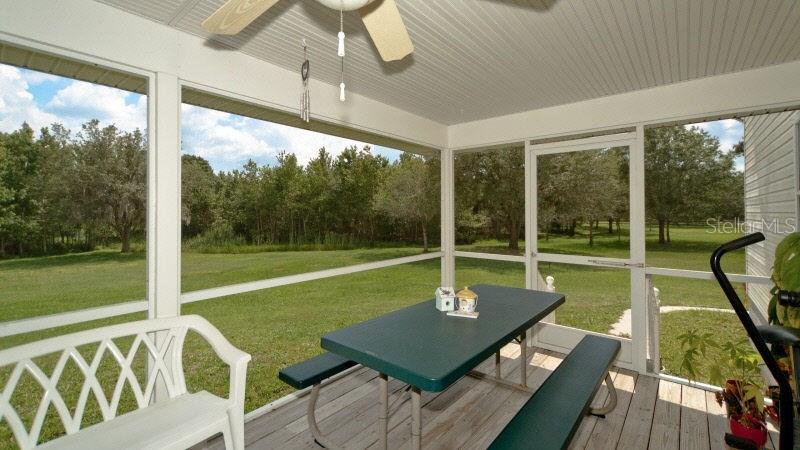 Rear Deck - Single Family Home for sale at 2032 Bel Air Star Pkwy, Sarasota, FL 34240 - MLS Number is A4173222