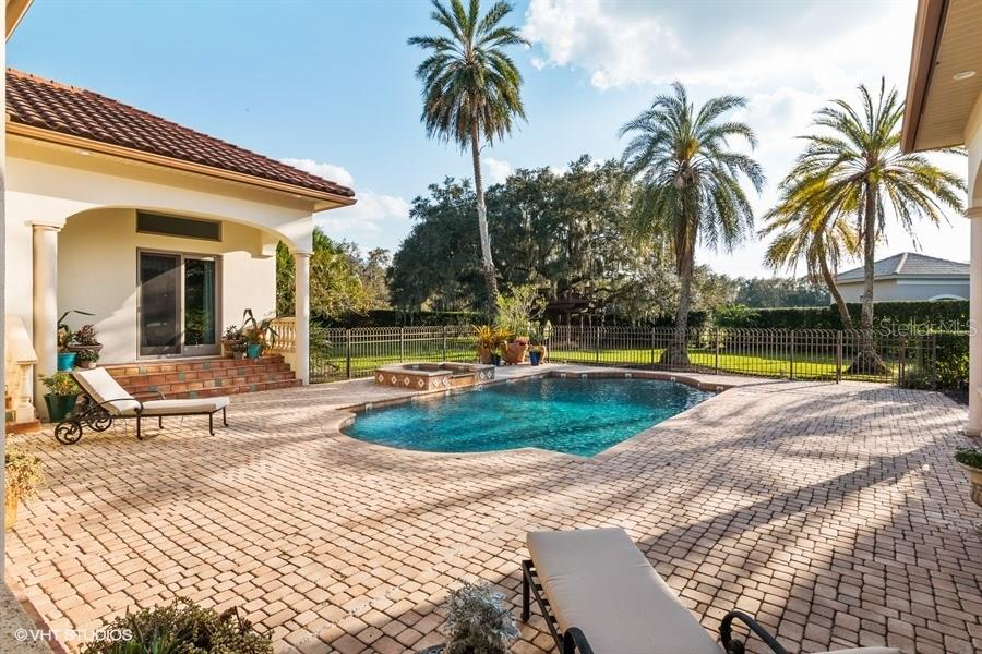 Beautiful Outdoor Space - There's even a Custom Built Tree House beyond here in the Large Oak! - Single Family Home for sale at 8130 Perry Maxwell Cir, Sarasota, FL 34240 - MLS Number is A4175735