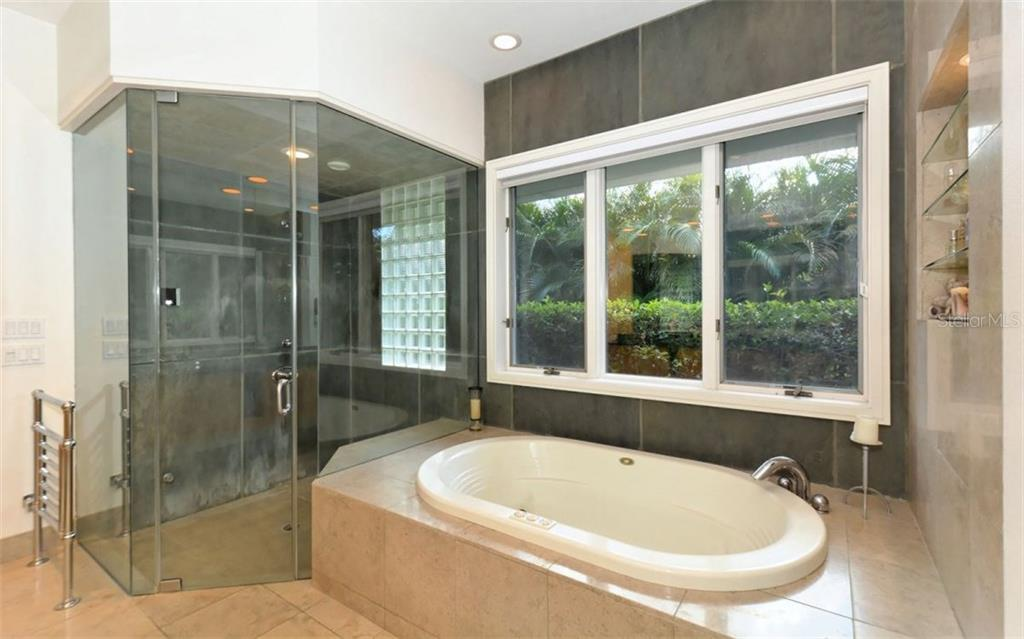 Master Bath - With Steam Shower - Single Family Home for sale at 3111 Dick Wilson Dr, Sarasota, FL 34240 - MLS Number is A4176685