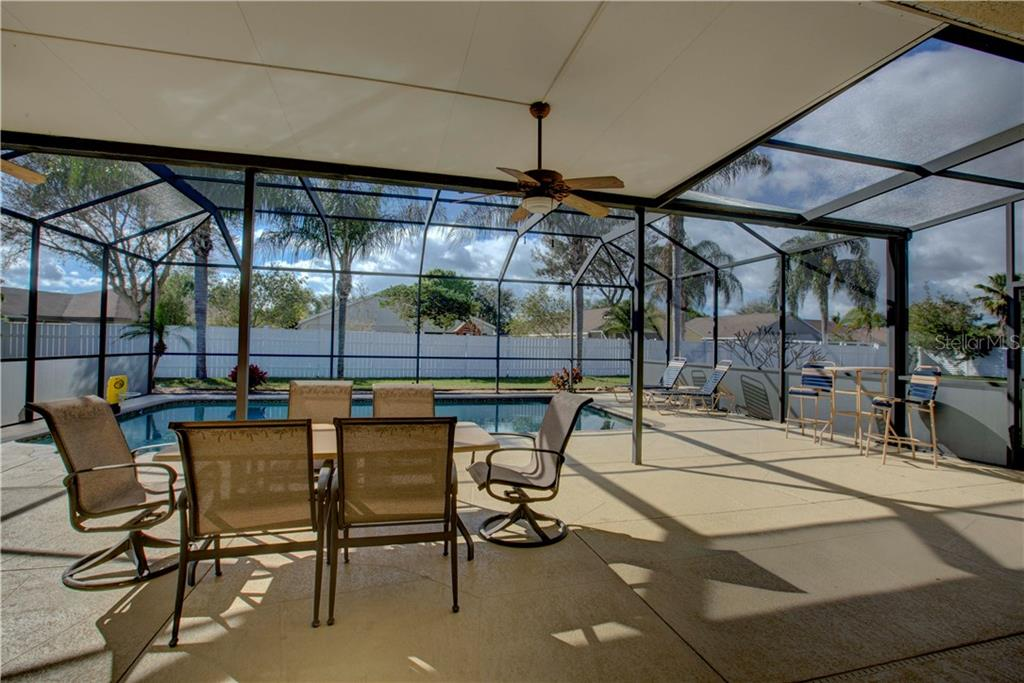 Wonderful enlarged under roof lanai for entertaining at its best - Single Family Home for sale at 4516 Useppa Dr, Bradenton, FL 34203 - MLS Number is A4178602