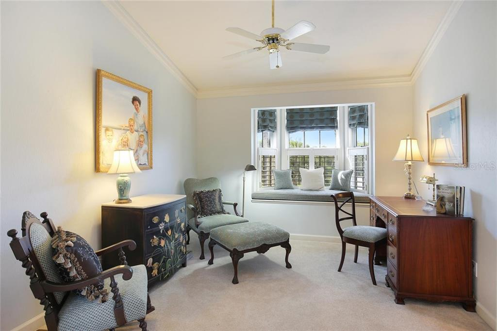 Relaxing bonus room in Master suite with window seat. - Single Family Home for sale at 3765 Beneva Oaks Blvd, Sarasota, FL 34238 - MLS Number is A4185879