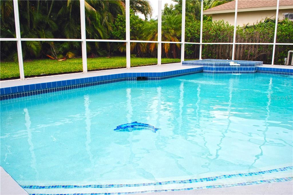 Newly resurfaced pool. - Single Family Home for sale at 9113 17th Dr Nw, Bradenton, FL 34209 - MLS Number is A4186407