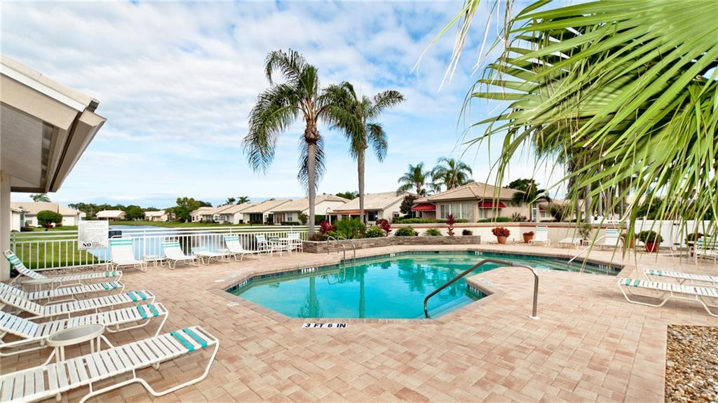 Heated community pool. - Single Family Home for sale at 4517 Galloway Blvd, Bradenton, FL 34210 - MLS Number is A4187598