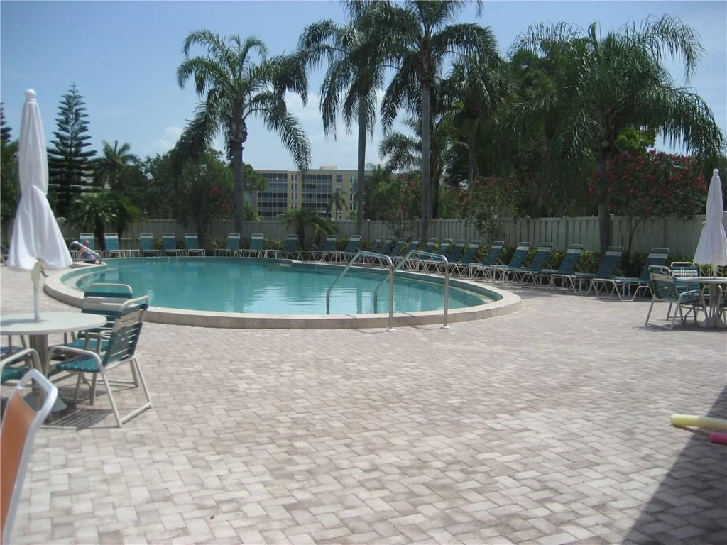 Relax or take a dip in your community pool - Condo for sale at 3820 Ironwood Ln #606i, Bradenton, FL 34209 - MLS Number is A4187664