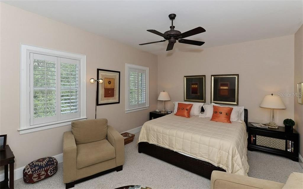 Master with sitting area - Townhouse for sale at 68 Bishops Court Rd #115, Osprey, FL 34229 - MLS Number is A4187983