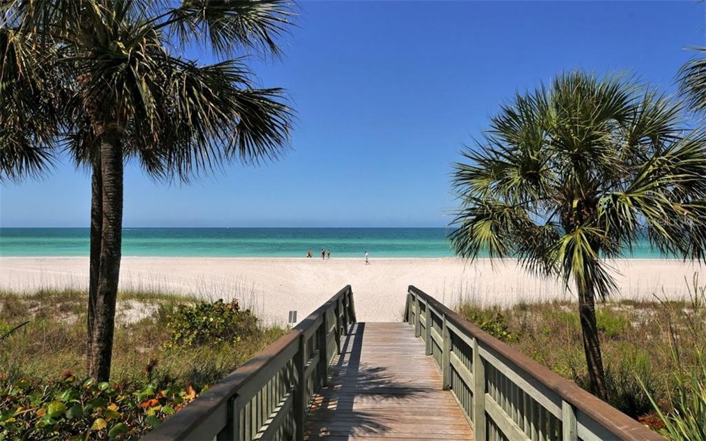Beach access from the pool. - Condo for sale at 1800 Benjamin Franklin Dr #b507, Sarasota, FL 34236 - MLS Number is A4188540