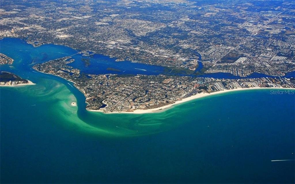 Siesta Key from the air - Condo for sale at 6342 Midnight Pass Rd #232, Sarasota, FL 34242 - MLS Number is A4189282