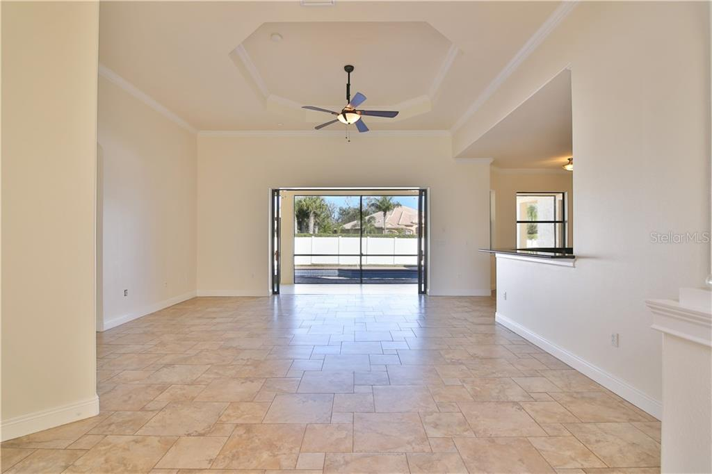 Wow! 12 foot Tray Ceilings With Crown Molding! - Single Family Home for sale at 7662 Trillium Blvd, Sarasota, FL 34241 - MLS Number is A4190704