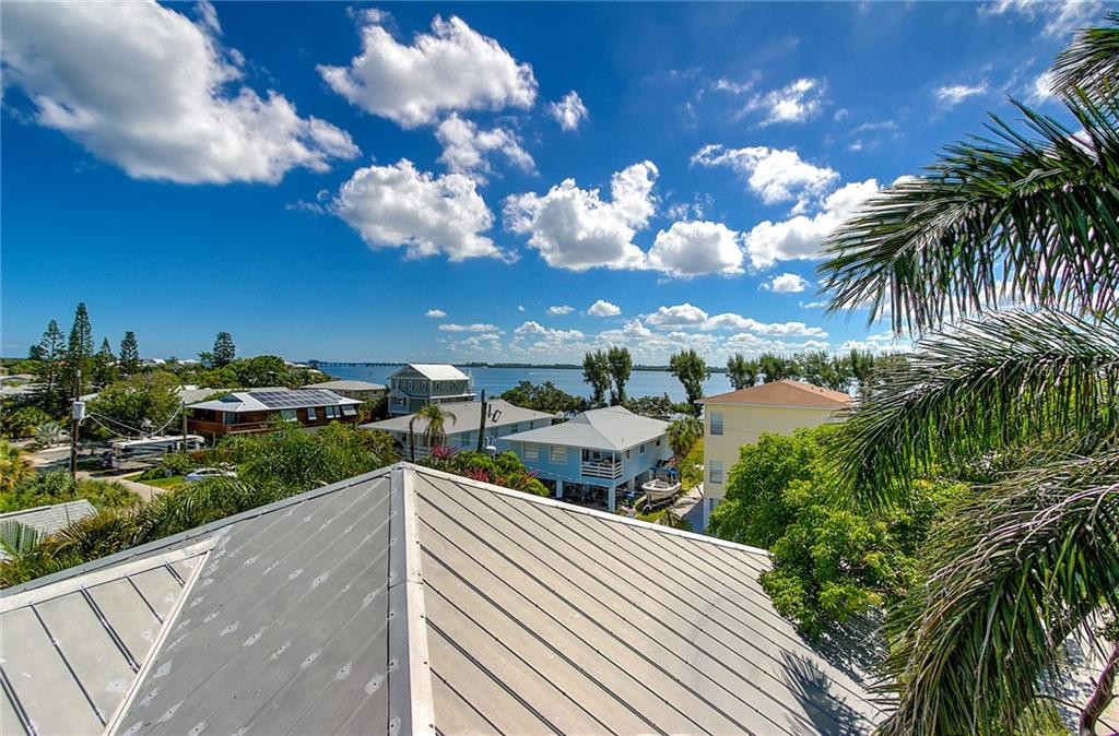 Roof Top Deck View - Single Family Home for sale at 2502 Avenue B, Bradenton Beach, FL 34217 - MLS Number is A4191682