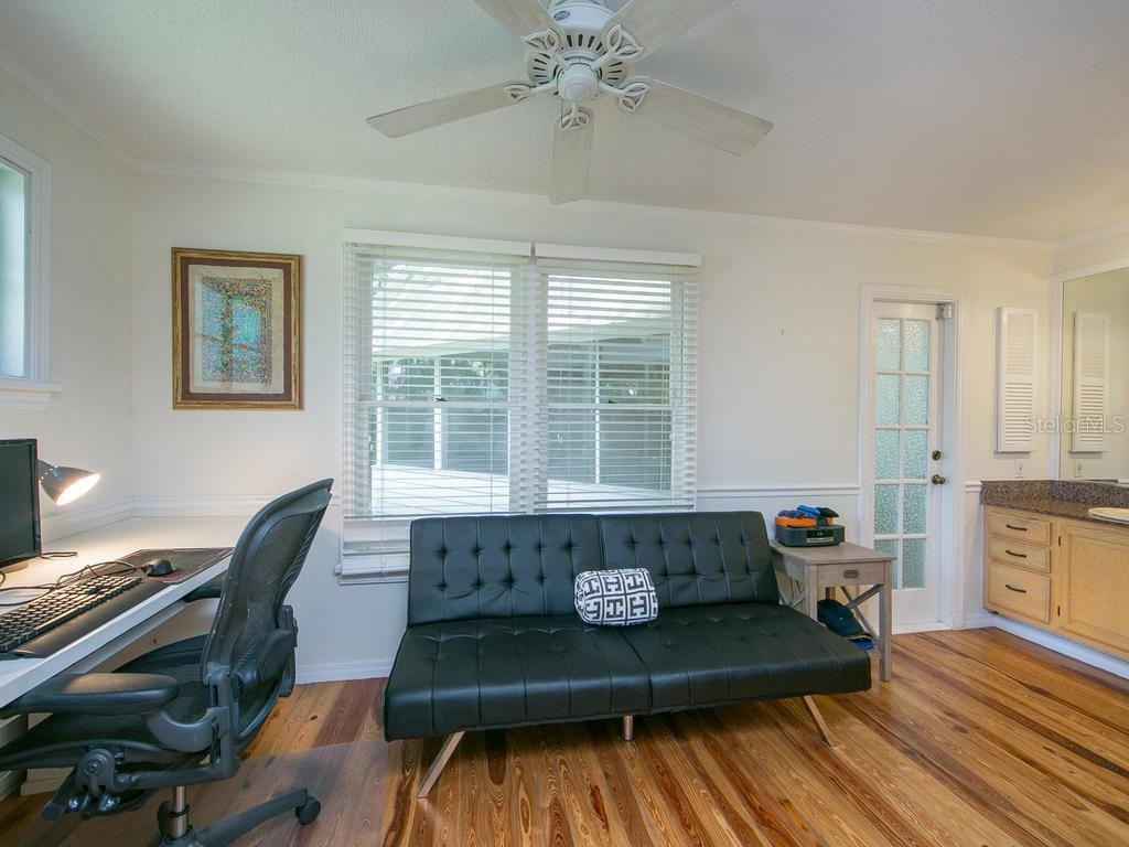 Office and Sitting Area off Master Bedroom - Single Family Home for sale at 1640 Waldemere St, Sarasota, FL 34239 - MLS Number is A4191687