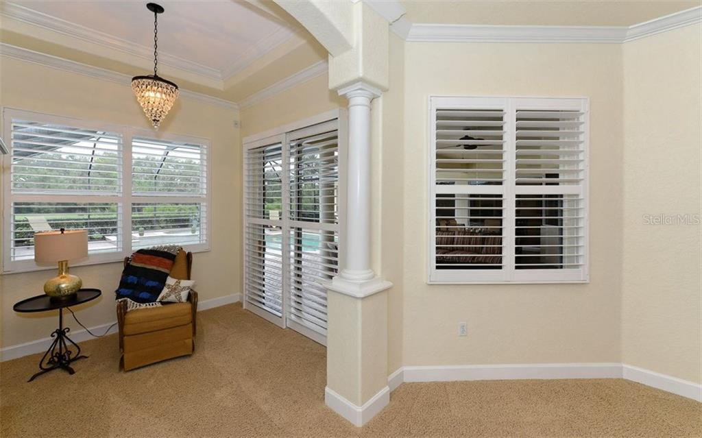 Master sitting area - Single Family Home for sale at 9919 Portside Ter, Bradenton, FL 34212 - MLS Number is A4197815