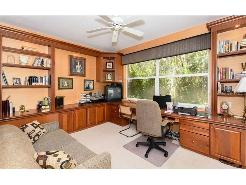Deluxe Office Viewing The Back Yard! - Single Family Home for sale at 6910 Treymore Ct, Sarasota, FL 34243 - MLS Number is A4198957