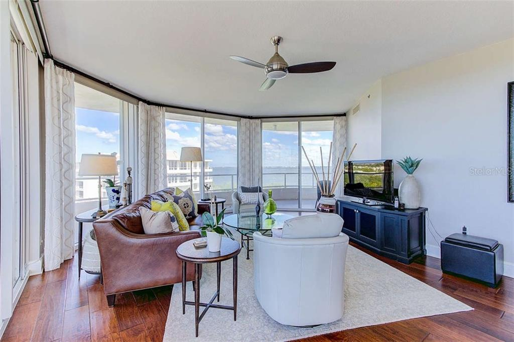 Living Room - Condo for sale at 3060 Grand Bay Blvd #142, Longboat Key, FL 34228 - MLS Number is A4199568