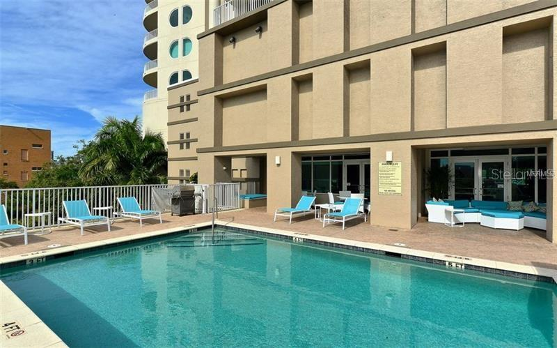 Pool - Condo for sale at 1771 Ringling Blvd #609, Sarasota, FL 34236 - MLS Number is A4201774