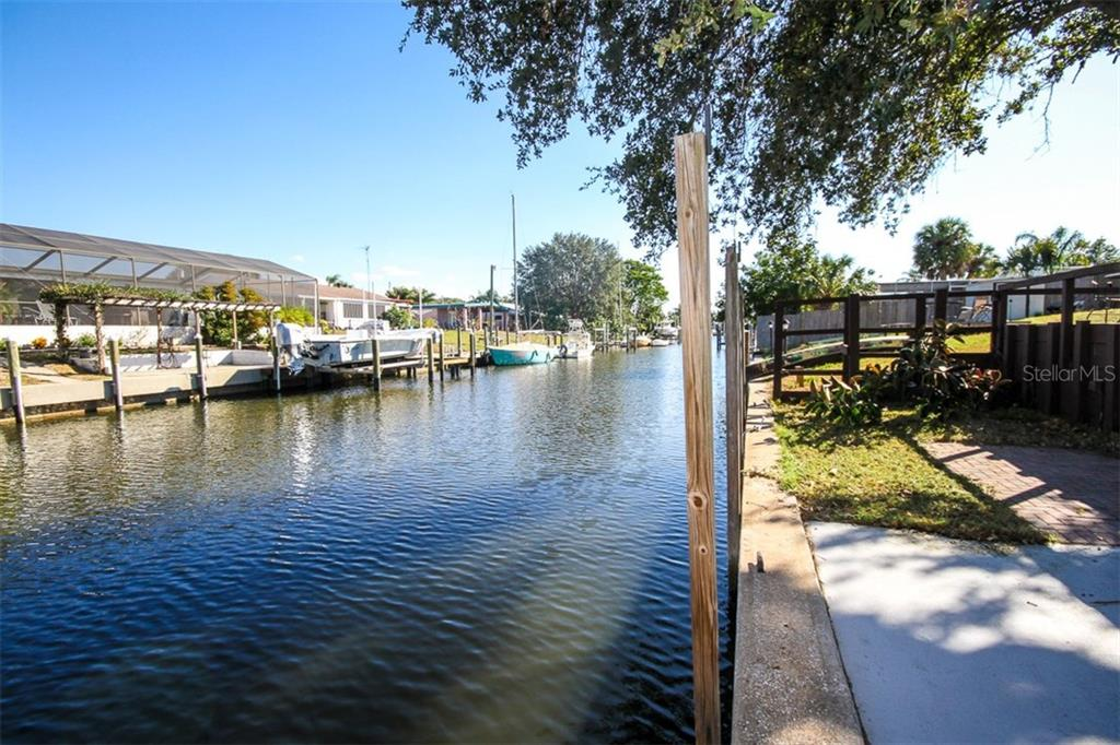 Canal - Single Family Home for sale at 6727 Georgia Ave, Bradenton, FL 34207 - MLS Number is A4202749