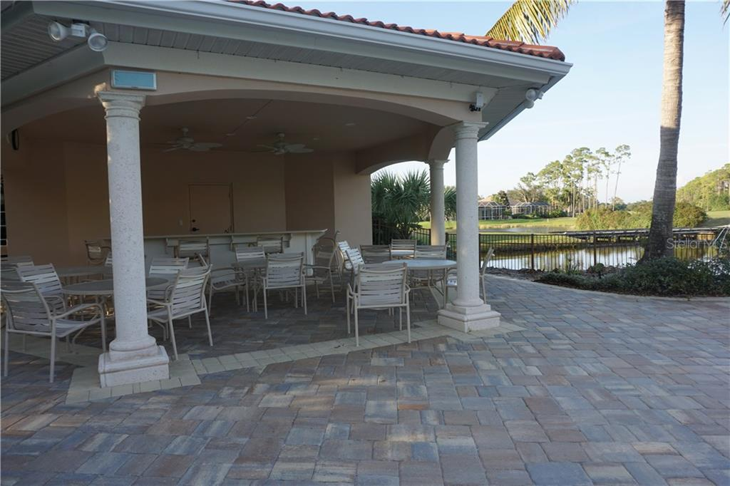 Community covered pavilion area at pool - Single Family Home for sale at 508 Marsh Creek Rd, Venice, FL 34292 - MLS Number is A4204933