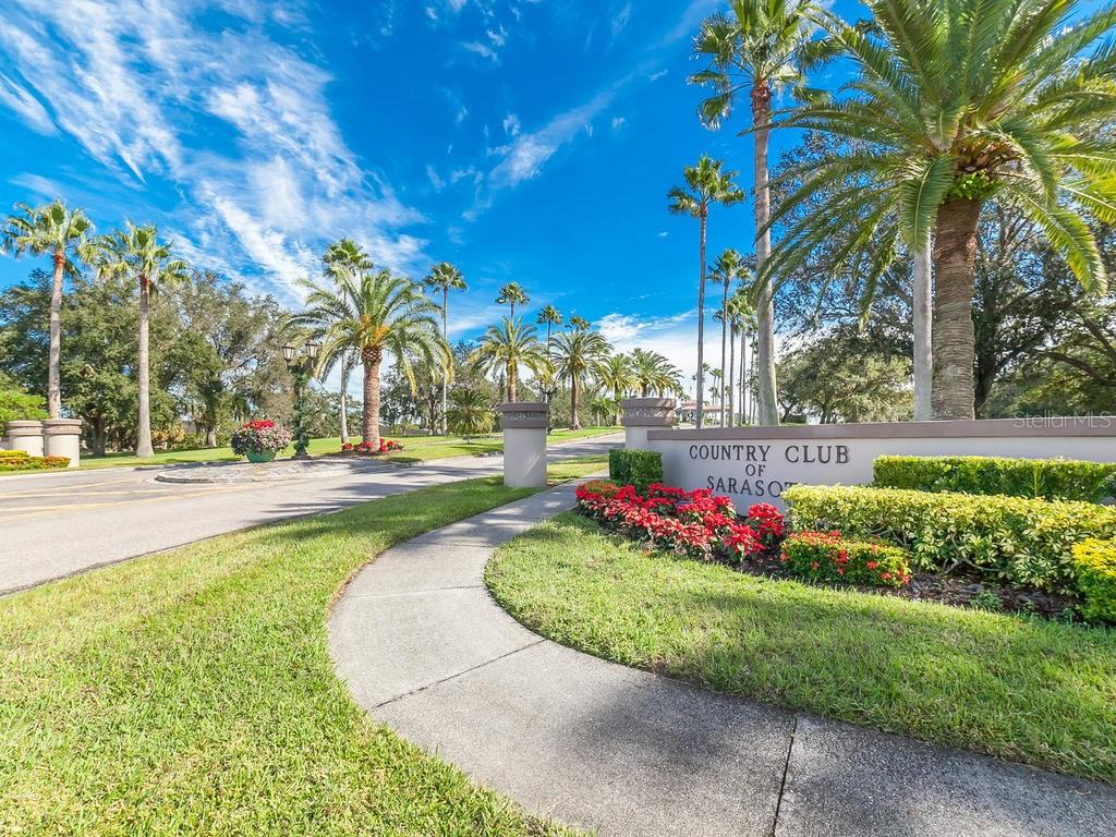 Country Club of Sarasota Entrance - Single Family Home for sale at 3959 Prairie Dunes Dr, Sarasota, FL 34238 - MLS Number is A4205907