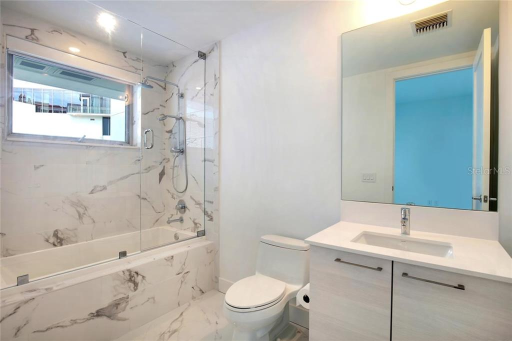 2nd bathroom - Condo for sale at 1155 N Gulfstream Ave #304, Sarasota, FL 34236 - MLS Number is A4208934