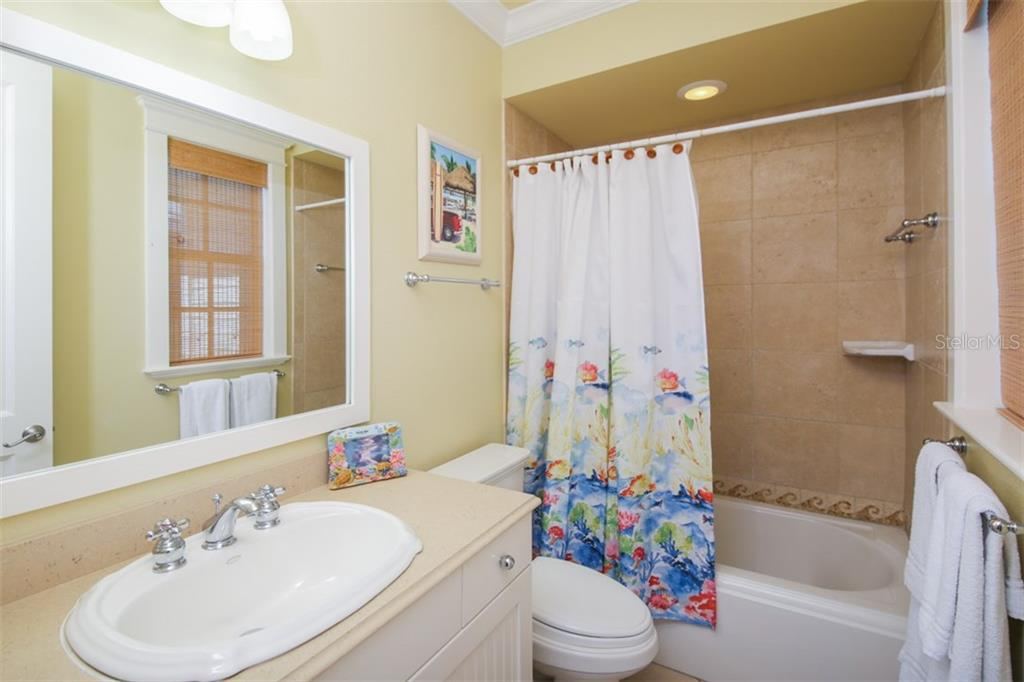 Guest bath 3 - Single Family Home for sale at 455 Canal Rd, Sarasota, FL 34242 - MLS Number is A4209817