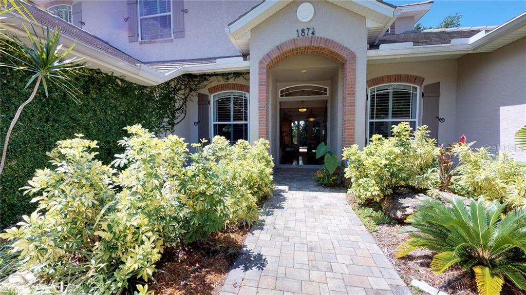 Sparkling pool/spa combination has a gas heater which can be used for year round enjoyment. - Single Family Home for sale at 1874 Oleander St, Sarasota, FL 34239 - MLS Number is A4209954