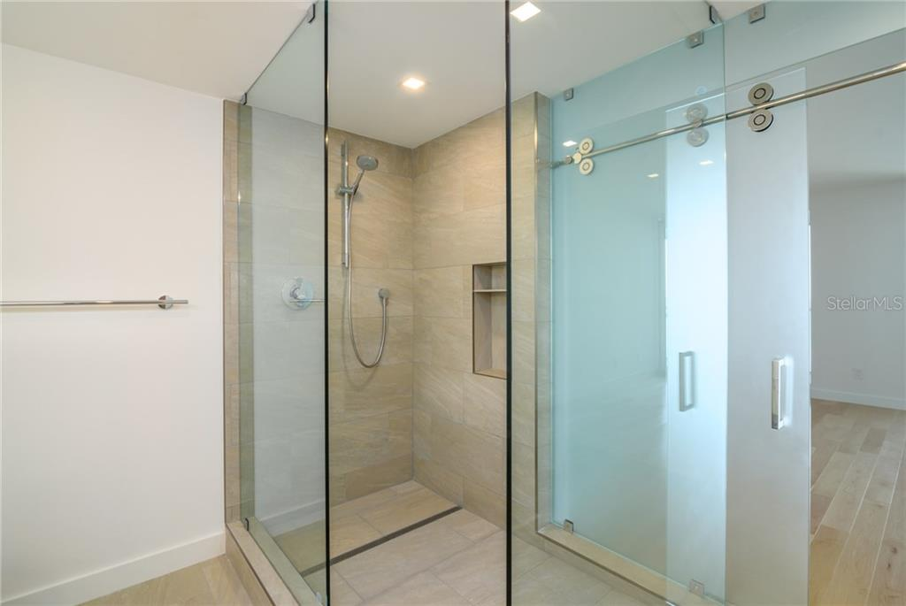 Master bathroom shower - Condo for sale at 4822 Ocean Blvd #11d, Sarasota, FL 34242 - MLS Number is A4209955