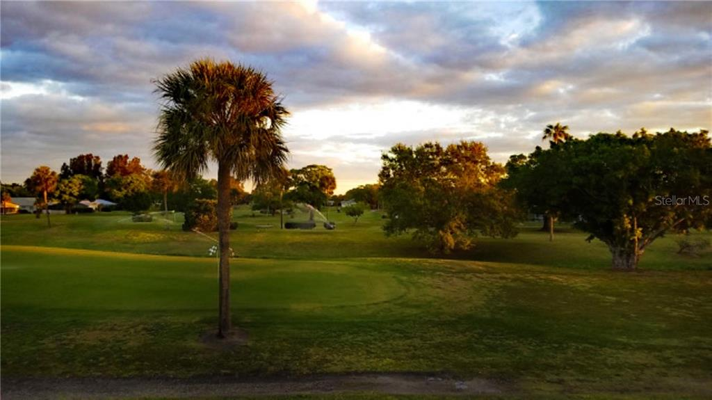 Sunset on Village Green Public Golf Course - Condo for sale at 3465 Bee Ridge Rd #323, Sarasota, FL 34239 - MLS Number is A4213622