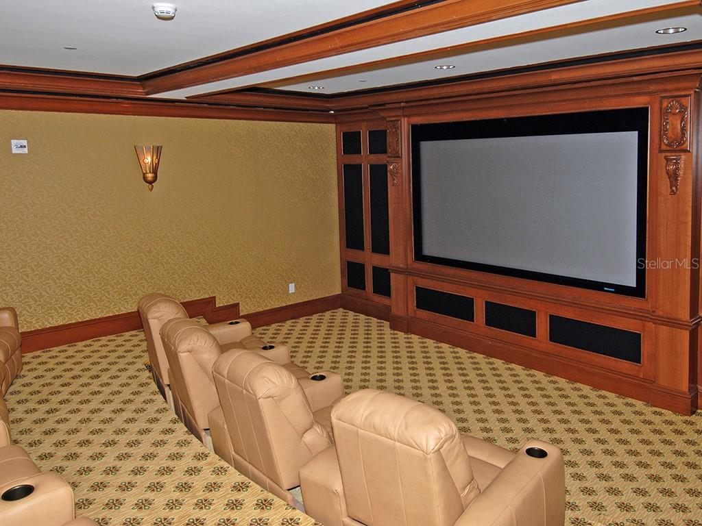 Private Movie Theater - Condo for sale at 1300 Benjamin Franklin Dr #603, Sarasota, FL 34236 - MLS Number is A4213631