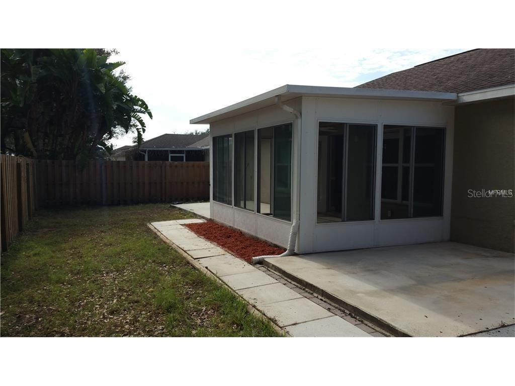 Fenced back yard - Single Family Home for sale at 4124 Malickson Dr, Parrish, FL 34219 - MLS Number is A4214761
