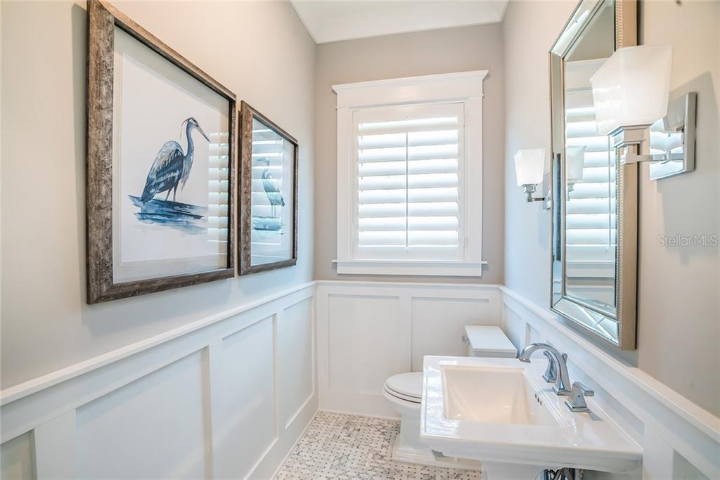 Powder Bath - Single Family Home for sale at 601 Triton Bnd, Longboat Key, FL 34228 - MLS Number is A4215179