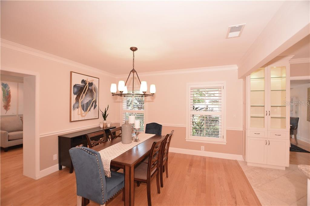 Spacious Dining Area - Single Family Home for sale at 1670 Bay View Dr, Sarasota, FL 34239 - MLS Number is A4400079