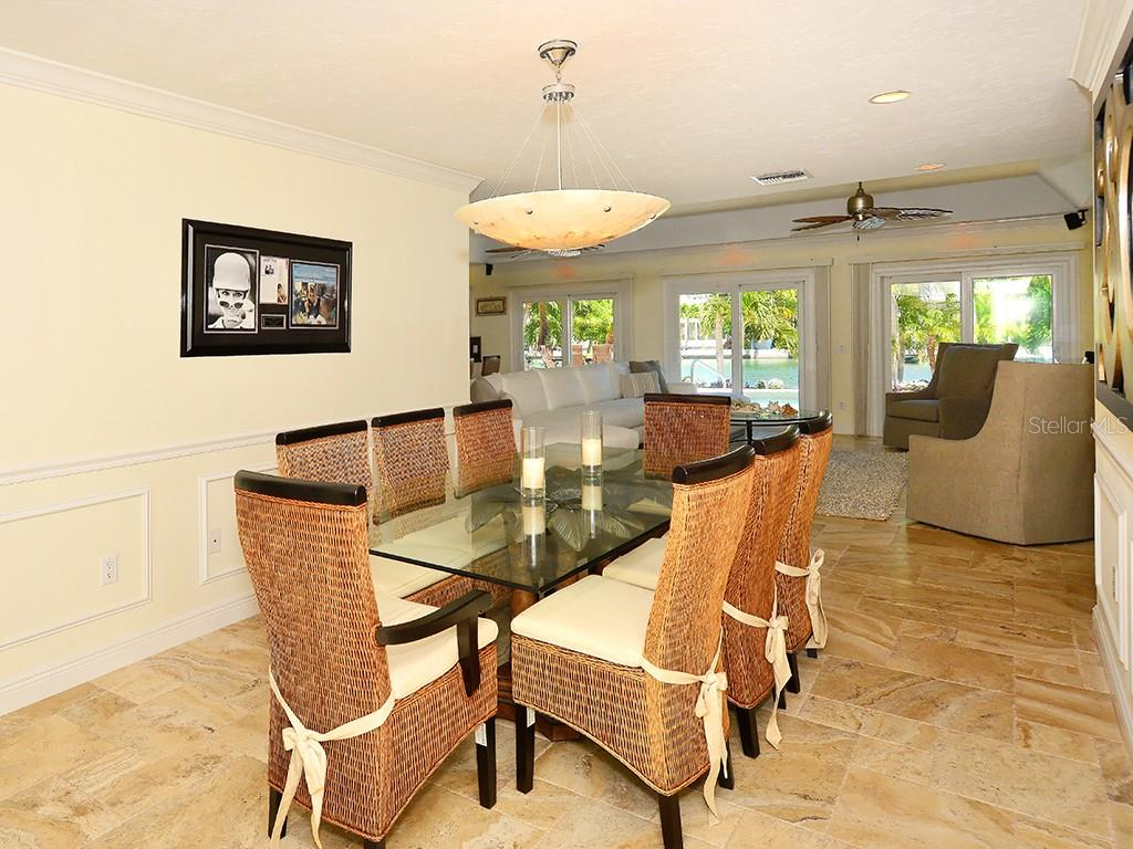 Dining Area - Single Family Home for sale at 85 S Polk Dr, Sarasota, FL 34236 - MLS Number is A4400870