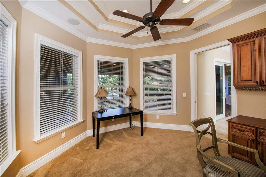 First Floor Office off of MBR - Single Family Home for sale at 432 Sorrento Dr, Osprey, FL 34229 - MLS Number is A4402898