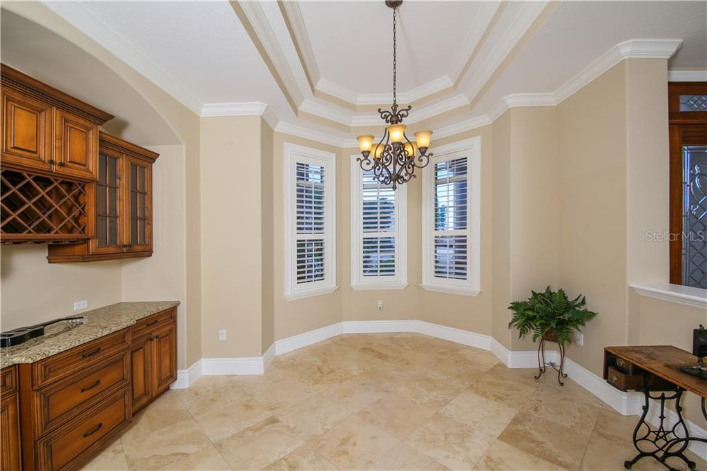 Dining Room - Single Family Home for sale at 432 Sorrento Dr, Osprey, FL 34229 - MLS Number is A4402898