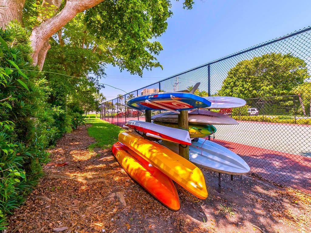 Kayak Rack. - Condo for sale at 4215 Gulf Of Mexico Dr #103, Longboat Key, FL 34228 - MLS Number is A4404956