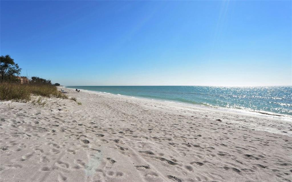 Pristene sandy beach and the azure Gulf waters. - Condo for sale at 4311 Gulf Of Mexico Dr #601, Longboat Key, FL 34228 - MLS Number is A4405195