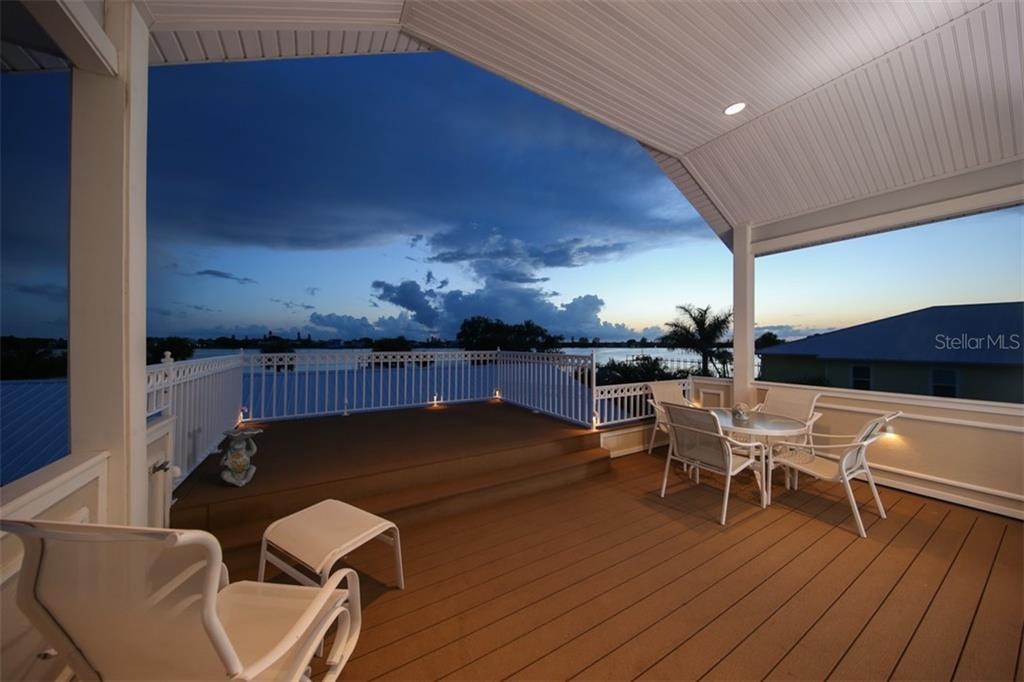 The perfect spot to enjoy an evening cocktail with friends and family. - Single Family Home for sale at 1778 Bayshore Dr, Englewood, FL 34223 - MLS Number is A4405962