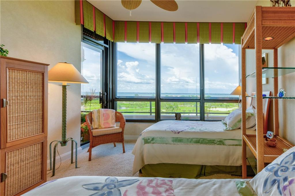 Bedroom 2 - Condo for sale at 435 L Ambiance Dr #k806, Longboat Key, FL 34228 - MLS Number is A4406683