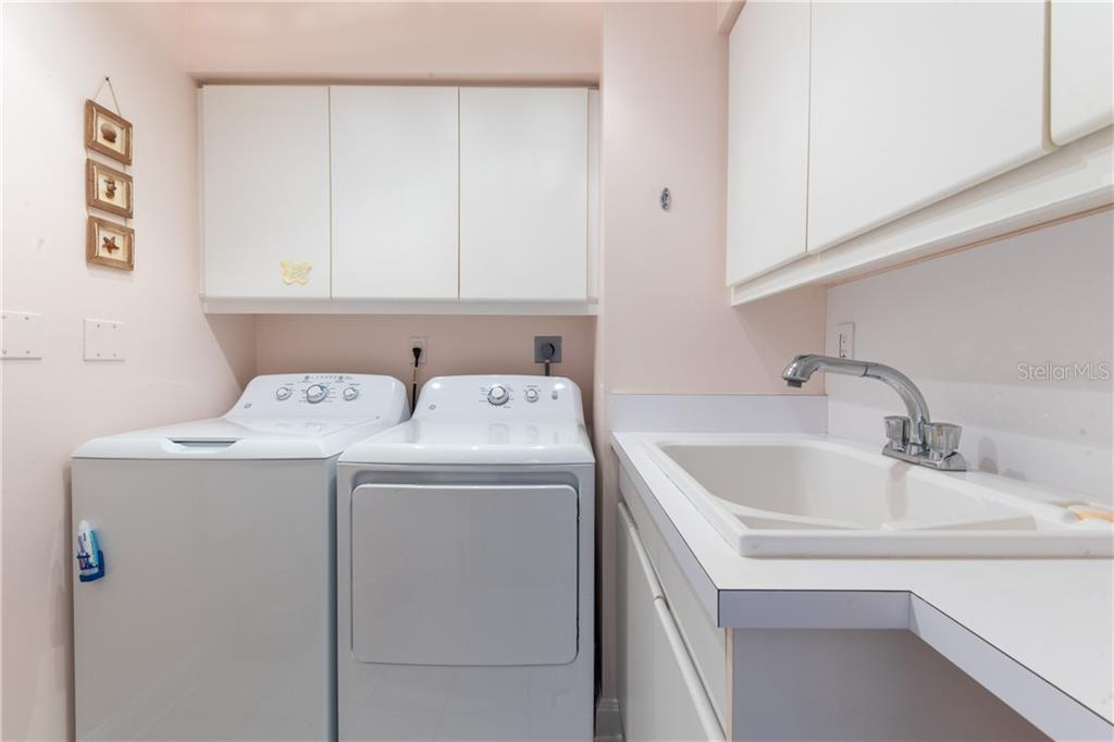 Large Laundry room. - Condo for sale at 435 L Ambiance Dr #k806, Longboat Key, FL 34228 - MLS Number is A4406683