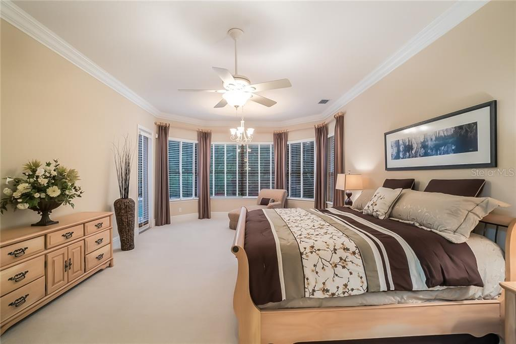 Master Bedroom, very spacious. - Single Family Home for sale at 13223 Palmers Creek Ter, Lakewood Ranch, FL 34202 - MLS Number is A4408290