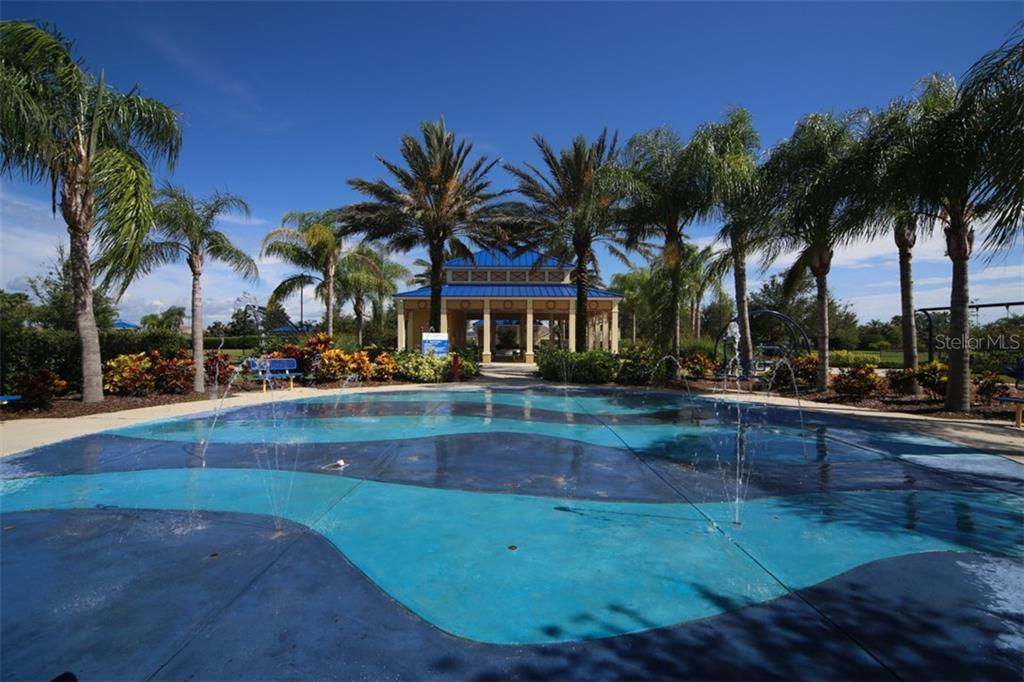 Community Splash Park - Single Family Home for sale at 4903 Boston Common Gln, Bradenton, FL 34211 - MLS Number is A4412075