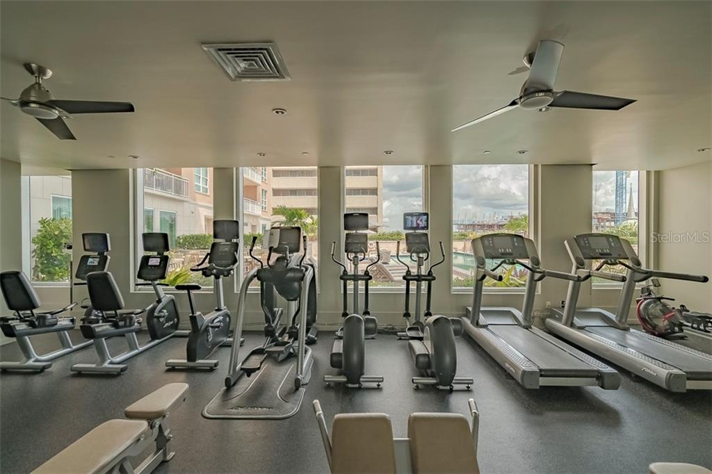 1350 Resort Style Amenities: Fitness - Condo for sale at 1350 Main St #1510, Sarasota, FL 34236 - MLS Number is A4412247
