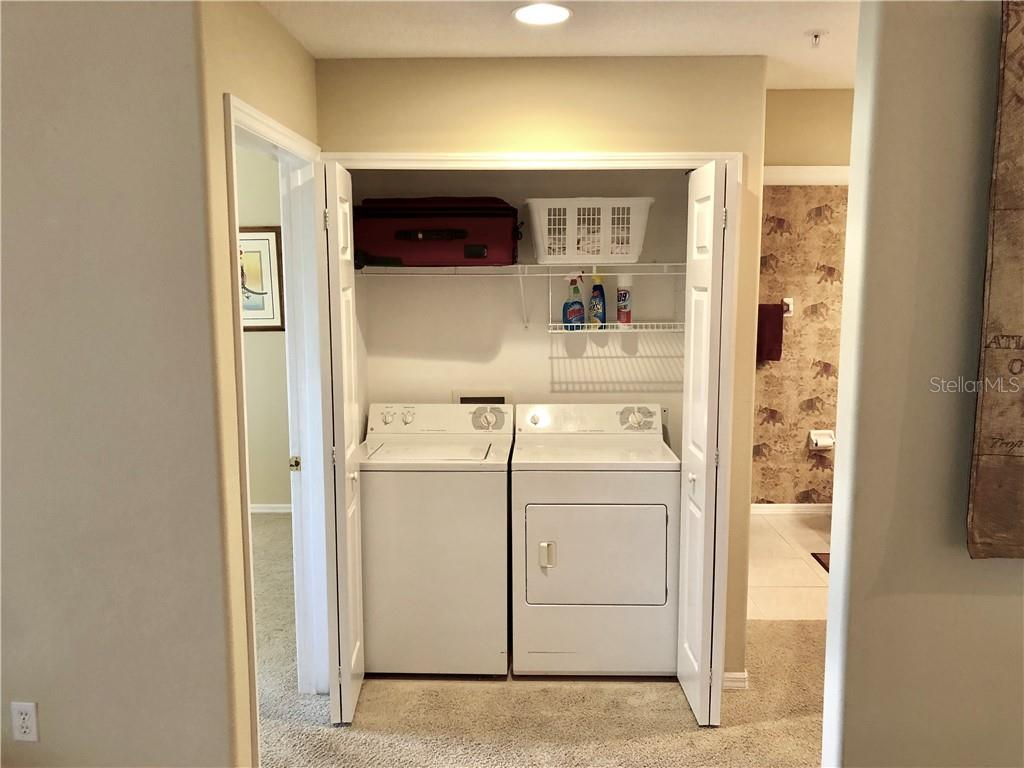 INSIDE UTILITY (WASHER AND DRYER) - Condo for sale at 4232 Central Sarasota Pkwy #822, Sarasota, FL 34238 - MLS Number is A4412786